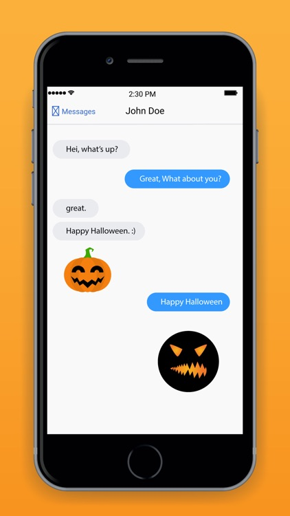 Pumpkin Emoji Keyboard screenshot-3