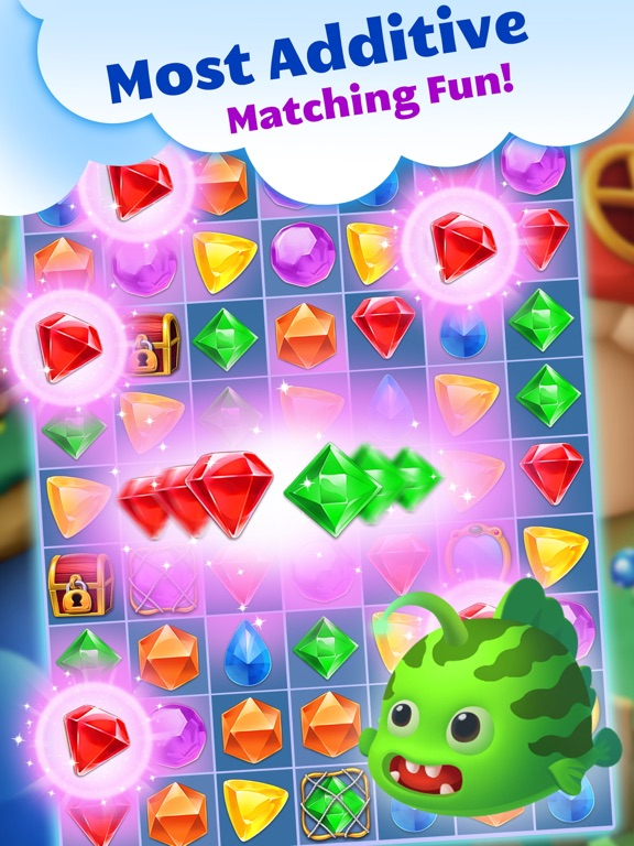 Jewel Splash Dash Edition - Brand New Match 3 Game-ipad-1