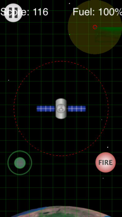 Outer Space Defense screenshot one