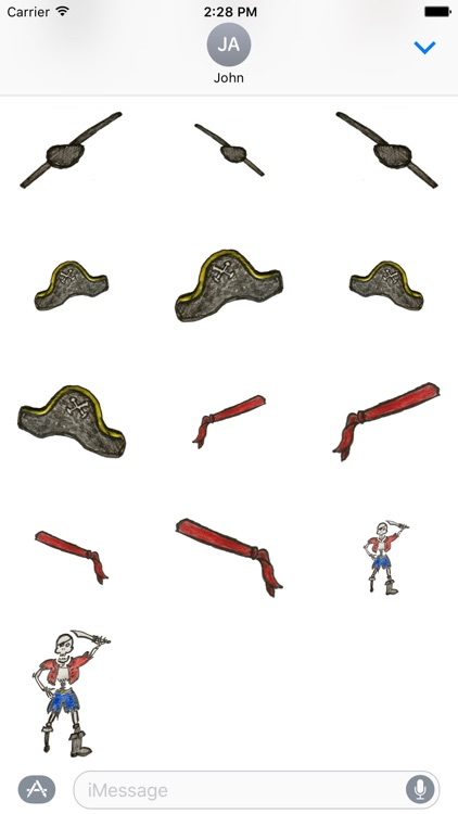 Nautical Pirate Stickers screenshot-2