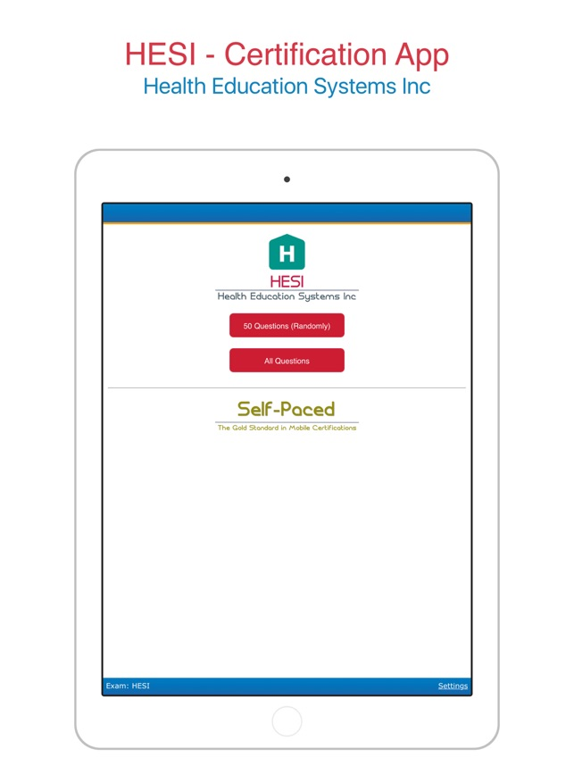 Hesi Health Education Systems Inc Self Paced App On The App Store