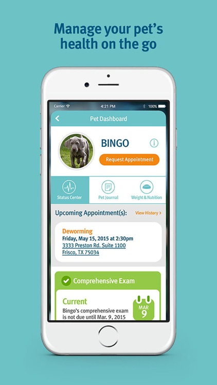 Banfield Pet Health Tracker screenshot-4