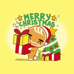 Christmas Gingerbread Man - Sticker Pack