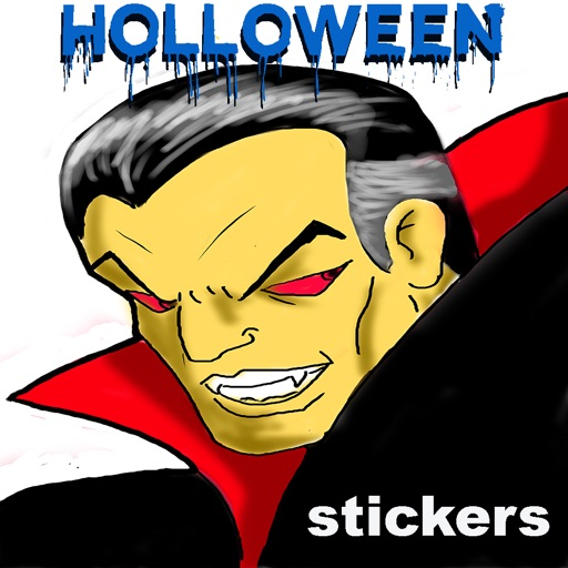 Spooky Holloween Stickers