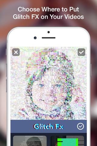 Glitch Art- Video Effects Edit screenshot 2