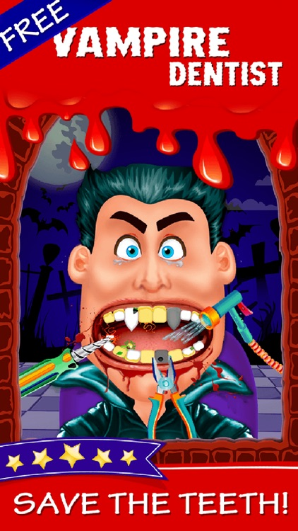 Tiny Vampire Dentist - Little Hair And Foot Doctor Office Kids Games 2