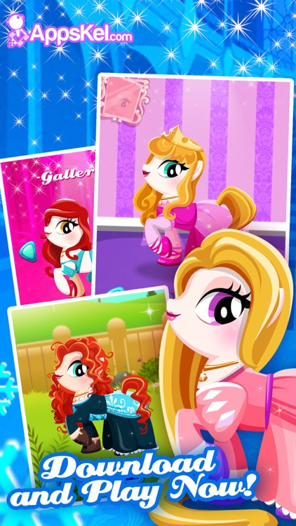 Pony Girls Friendship 2– Magic Dress Up Games Free screenshot-3