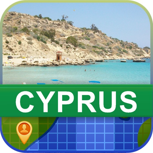 Offline Cyprus Map - World Offline Maps icon