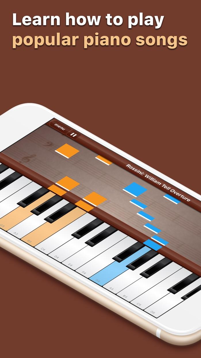 Grand Piano Keyboard&Metronome Screenshot