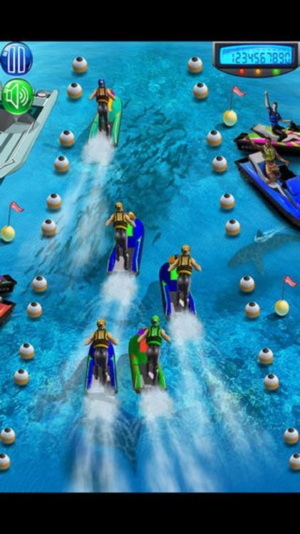 Jet Boat Water Racing Ski screenshot-3