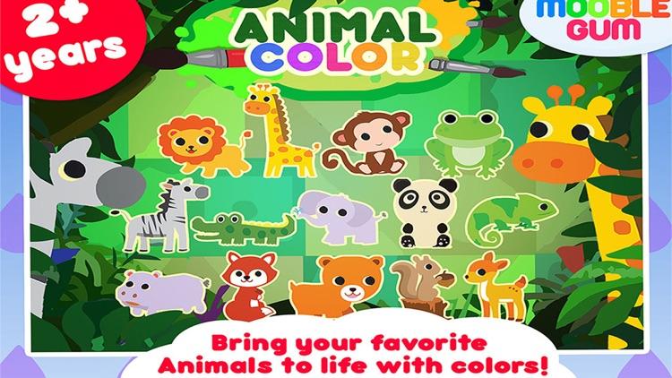 Animal Coloring Book Art Studio
