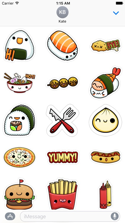 Food Court - Stickers for iMessage