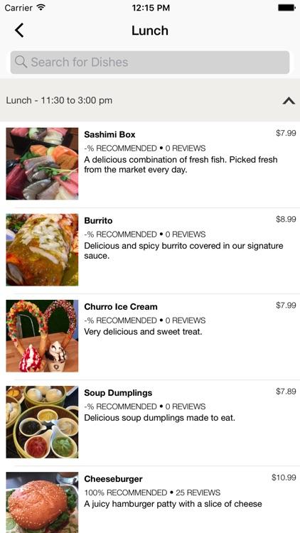 Yumscore - Restaurant Reviews & Photo Menu