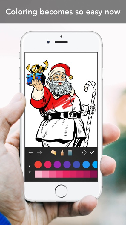 Coloring Book for Christmas screenshot-3