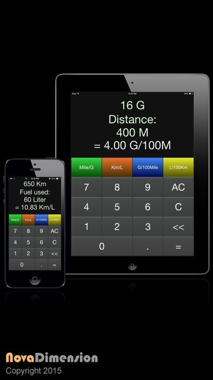 MPG Calculator Lite