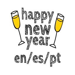 Happy New Year - En/Es/Pt