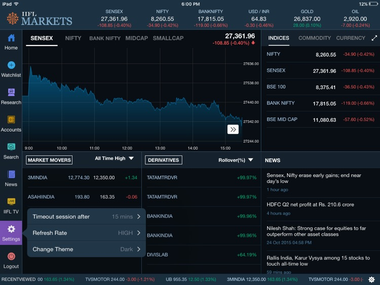 IIFL Markets - NSE BSE Trading screenshot-0