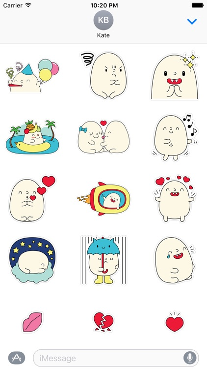 Blobby Stickers