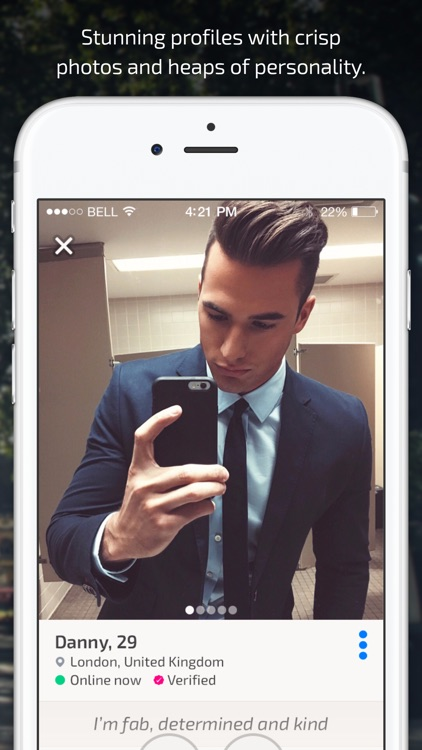 Hanky - Gay dating, flirt and fun by live selfies screenshot-4