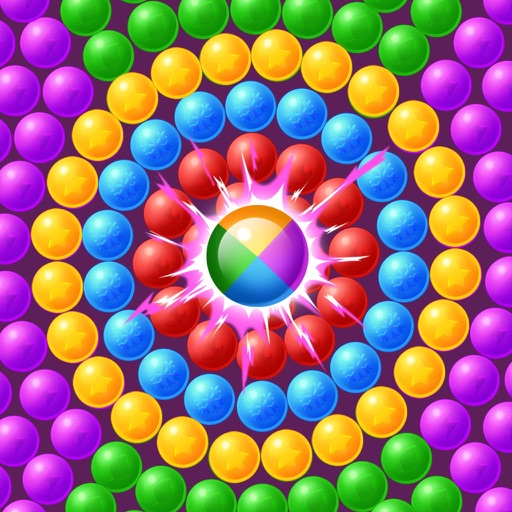 Bubble Shooter -Pop balloon shoot casual games