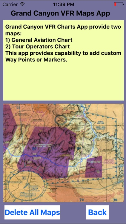 Grand Canyon VFR Aeronautical Chart screenshot-4