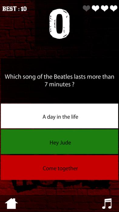 Rock Quizz screenshot two