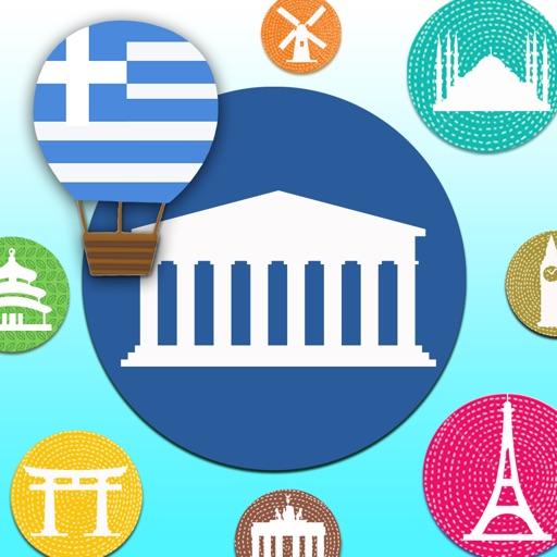 Learn Greek Vocabulary Words Baby FlashCards