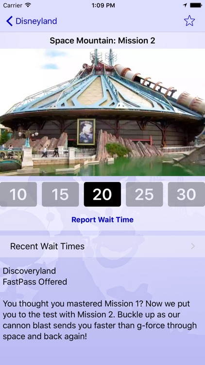 Wait Times for Disneyland Paris - Ad Free