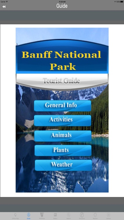 Banff National Park USA Tourist Travel Guides