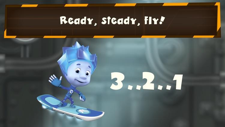 Fixie Surfer endless runner, racing games for kids screenshot-4