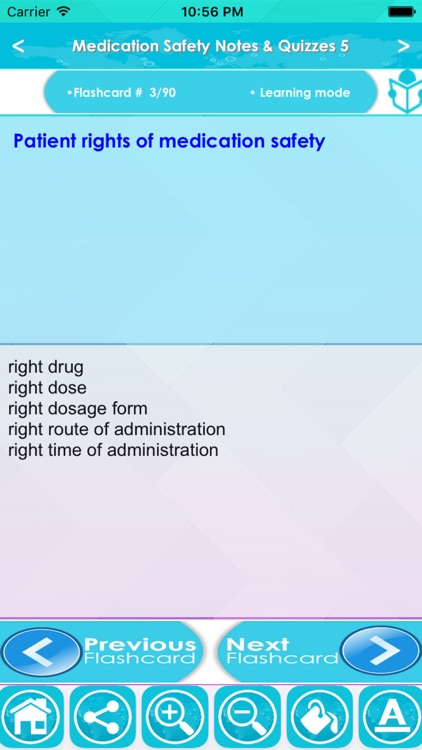 Medication Safety Exam Review-Study Notes & Quiz
