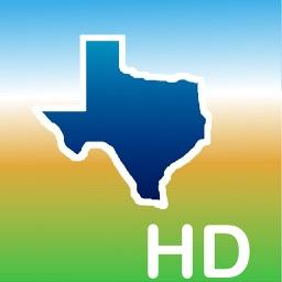 Aqua Map Texas TX Lakes HD - GPS  Nautical Charts