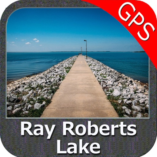 Ray Roberts Lake Texas GPS fishing spot & chart