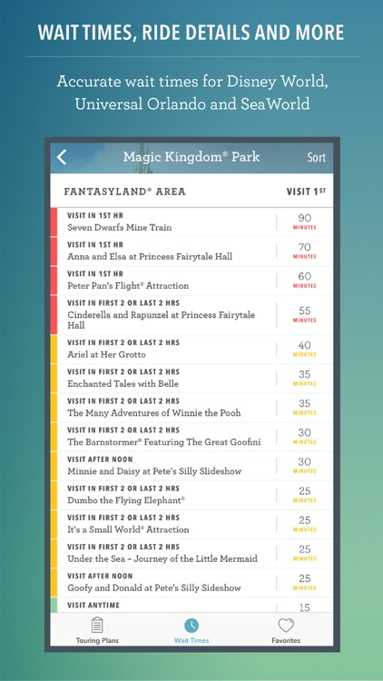 Disney World Maps & Wait Times screenshot-3