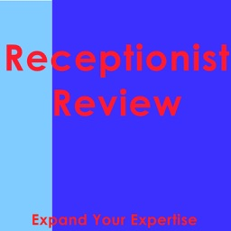 Receptionist Exam Review & Test Bank App : 800 Study Notes, Flashcards, Concepts & Practice Quiz