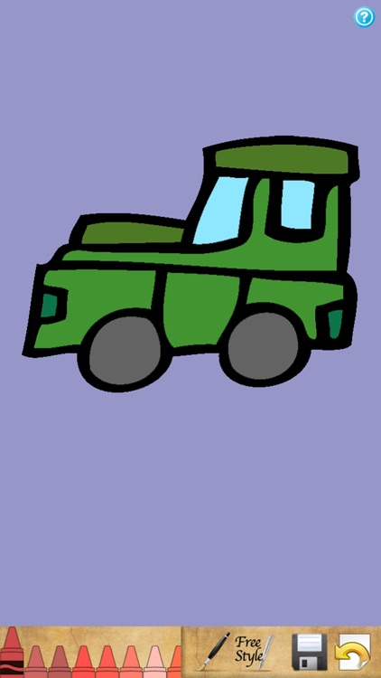 Coloring Book - Cars screenshot-2