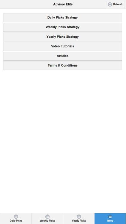 The Stock Advisor Elite screenshot-3