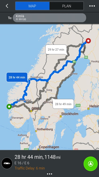CoPilot Nordics - GPS Navigation & Offline Maps