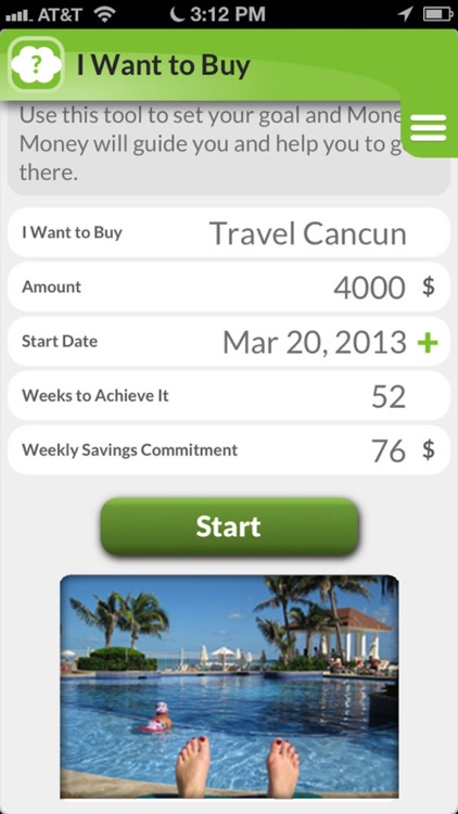 Money Money:  To track expenses & save money