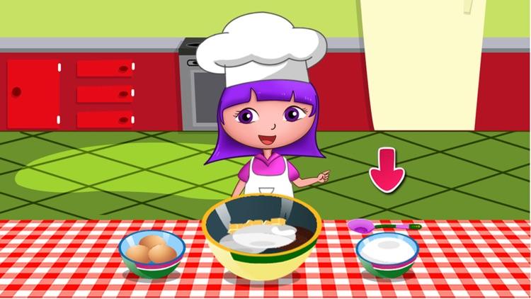 Anna's birthday cake bakery shop (Happy Box) free kids games