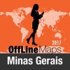 Estado de Minas Gerais mapa offline y guía de