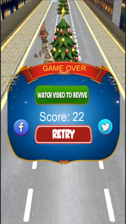 Christmas Santa Trump Run - Best Xmas Fun Games screenshot-3
