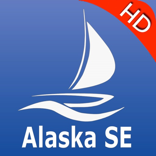 Alaska South East GPS Nautical charts pro