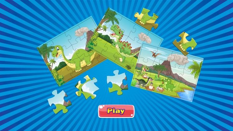 Dino Puzzle : Kids Dinosaur Jigsaw Puzzles Games