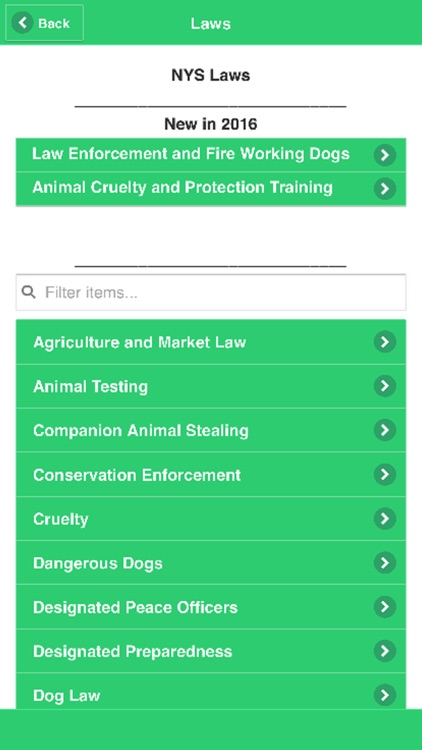 Animal Laws of NYS by New York State Animal Protection Federation
