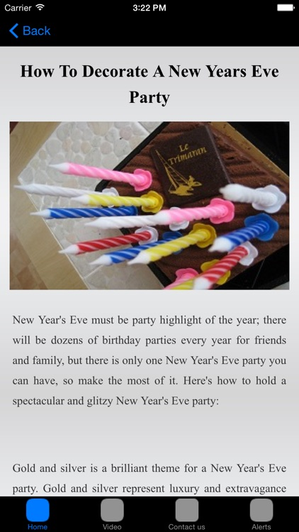New Years Eve Decorations & Party Ideas