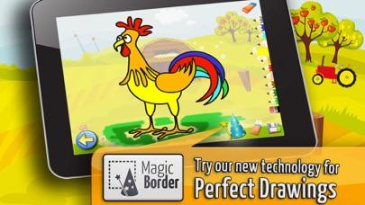 農場 - ぬりえ - パズル - キッズと子供のためのゲームスクリーンショット3