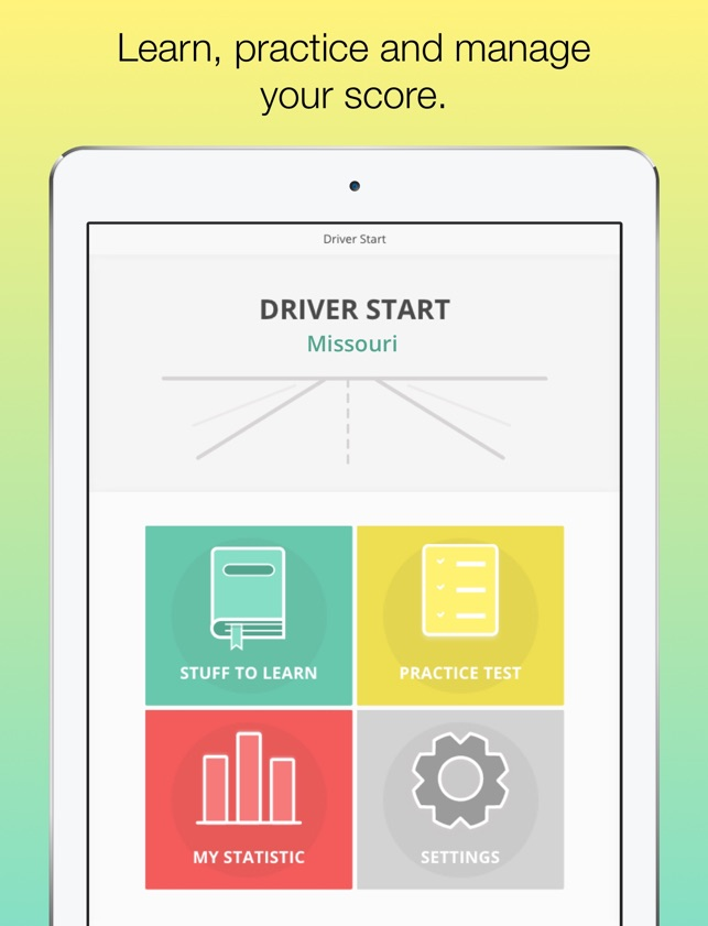 what do i need to know for my drivers test in missouri