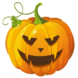 Halloween Stickers, Cards: Share on Social Media