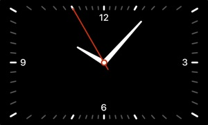 Screen Clock: Watch Time on TV